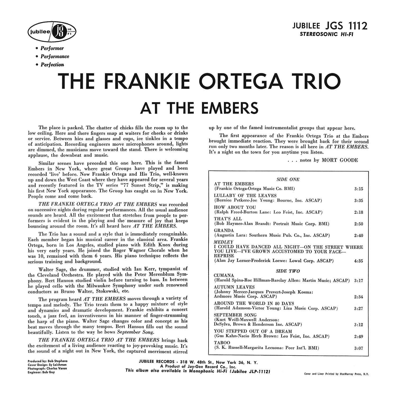 The Frankie Ortega Trio