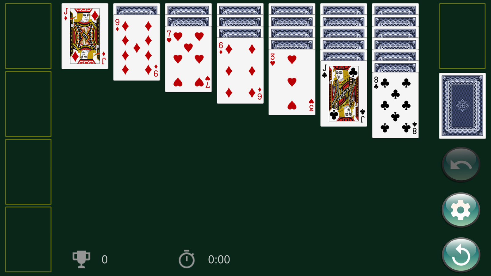 Very Simple Solitaire- screenshot