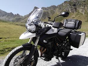 """Photo: """"Rent a Tiger"""" Triumph Tiger 800XC Andorra (Pyrenees)"""