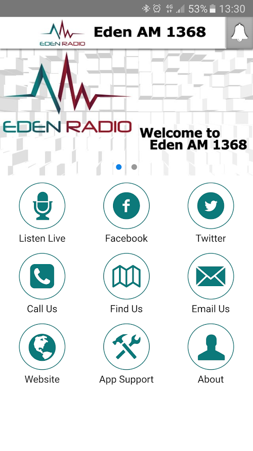 Eden Radio- screenshot