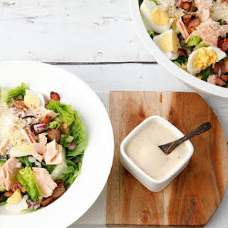 Salmon Caesar Salad -30min Thermomix.