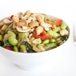 Cashew Ginger Rice Bowl