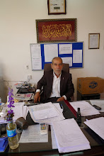 Photo: Teacher and director of one of the Erbil highschools, Hawlêr 2014