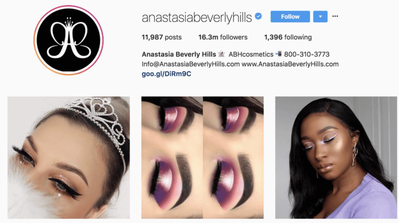 beauty-instagram-niche