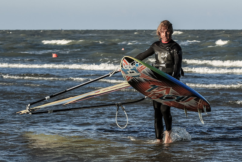 quando ritorni dal wind surf sono in forma il corpo e la mente di massimo bertozzi