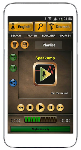 SpeakAmp MP3 Player - Music