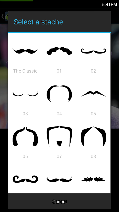 Moustachify Everything!- screenshot
