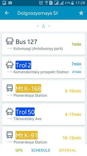 EasyWay public transport  screenshots 5