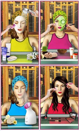 Beauty Spa Salon 3D, Make Up & Hair Cutting Games 1.2 screenshots 4