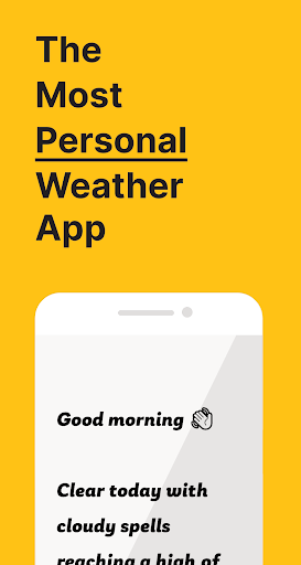 Appy Weather: the most personal weather app 👋 2020.07.24 screenshots 1
