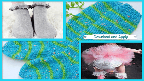 Cute Crochet Baby Ruffle Socks - náhled