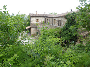Photo: Calmancino - das Haus. Ansicht von der Wiese/Zeltplatz.