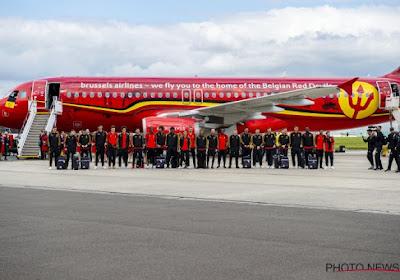 Le plan de vol, le staff de l'avion, la nourriture: tout savoir sur le vol des Diables Rouges en Russie