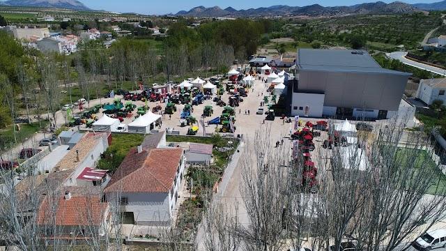 Feria Comarcal de Maquinaría, Productos agrícolas y ecológicos.