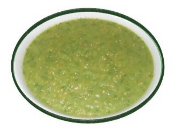 Wonderful Warm Tomatillo Salsa, Also Called Salsa Verde