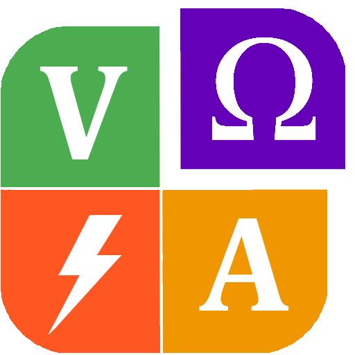Volt / Amp / Watt / ohm Calculator Icon
