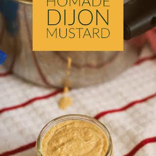 Homemade Dijon Mustard.