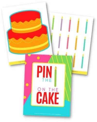 Instant Party Toolkit Pin Candle On Cake