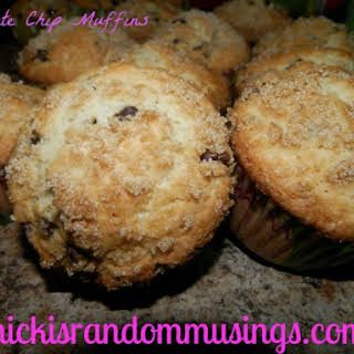 Chocolate Chip Muffins Without Butter Recipes.