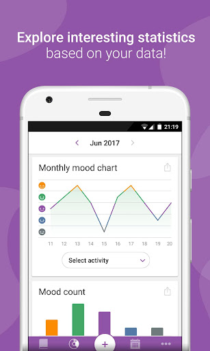 Daylio - Diary, Journal, Mood Tracker app (apk) free download for Android/PC/Windows screenshot