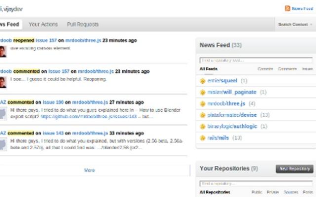 GitHub Feed Filter