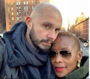 Bonnie Mbuli is totally besotted with her guy.