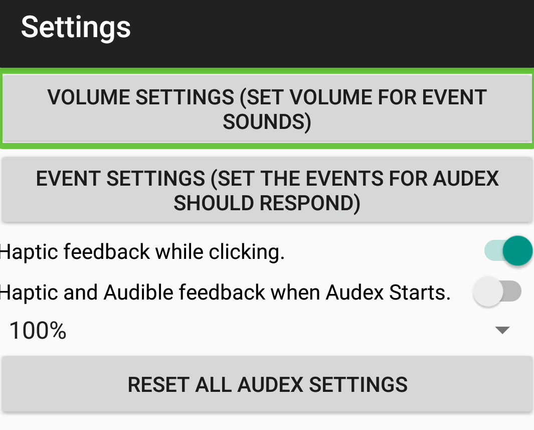 Audex: Accessibility Redefined – Screenshot