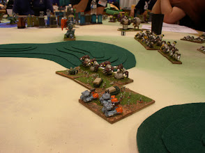 Photo: GUARD Horde and Shooters fight to prevent the Molemen from gaining control of this Power Center.