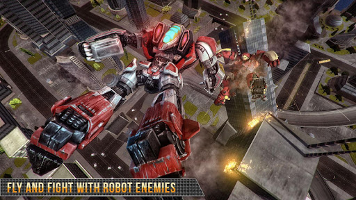 Télécharger Real Gangster Robot Car Transform Game 2020 APK MOD (Astuce) screenshots 4