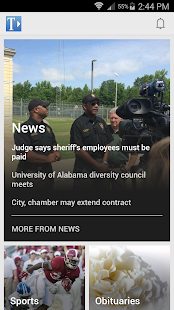 The Tuscaloosa News- screenshot thumbnail
