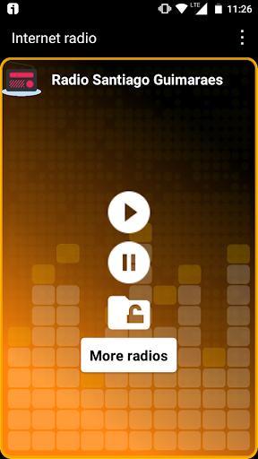 radio santiago guimaraes fm portugal gratis online screenshot 1