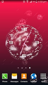 Bubble Clock Live Wallpaper screenshot 1