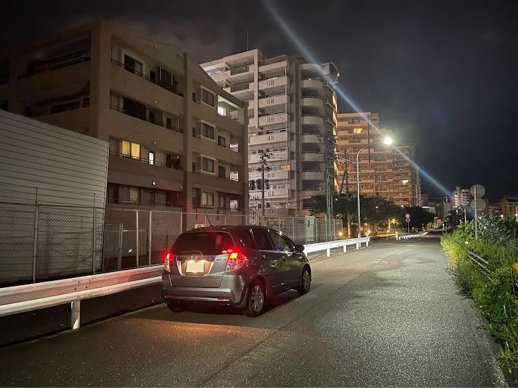 フィット GP1の福岡,ららぽーと福岡,ガンダムパーク福岡,等身大νガンダム,半年に一度の呼び出しに関するカスタム&メンテナンスの投稿画像2枚目