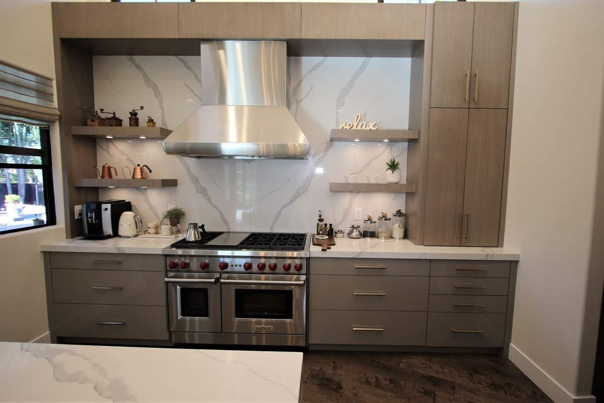 145 Modern Contemporary Kitchen Remodel With Custom Cabinets In Fullerton Orange County