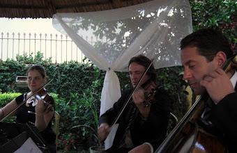 Photo: Trio de Cordas em Casamento ao Ar Livre - Canoas - RS