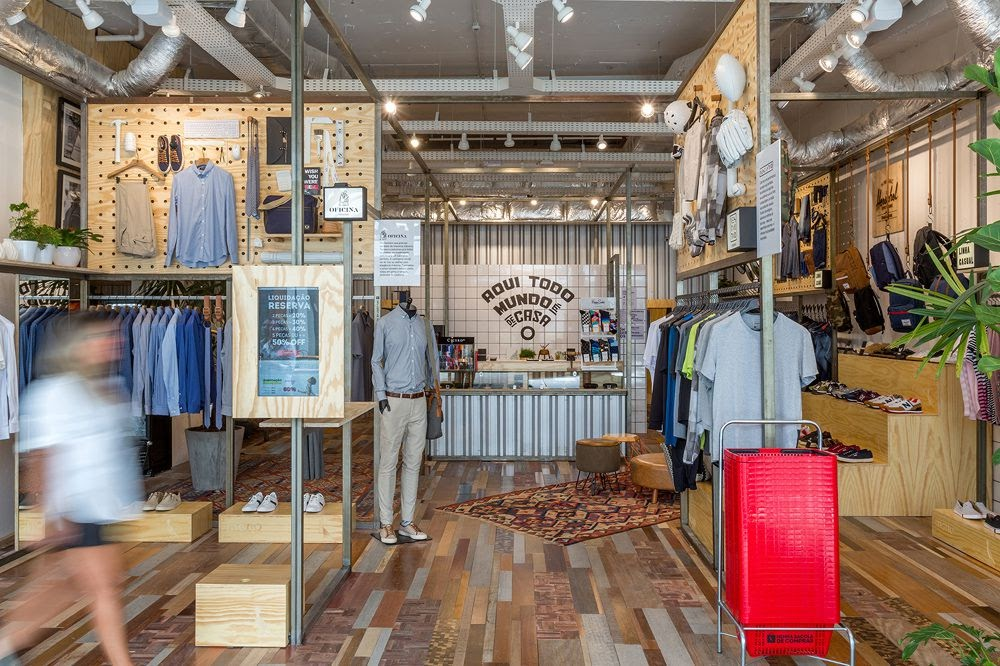 Thiết kế shop thời trang kết hợp quán cafe - thiết kế shop quần áo 3
