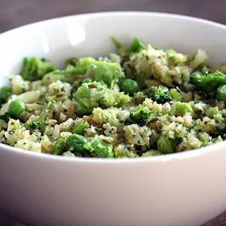 Broccoli-Cauliflower Rice.