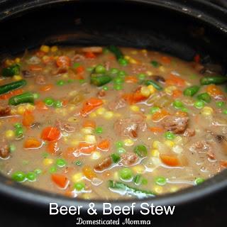 Crock Pot Beer & Beef Stew