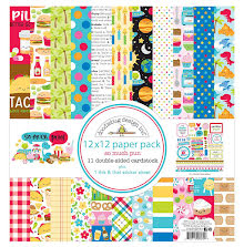 Doodlebug Double-Sided Paper Pack 12X12 12/Pkg - So Much Pun