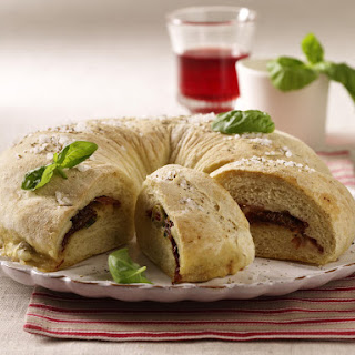 Italian Stuffed Bread Ring