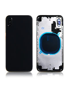 iPhone X Back Housing without logo High Quality Space Gray