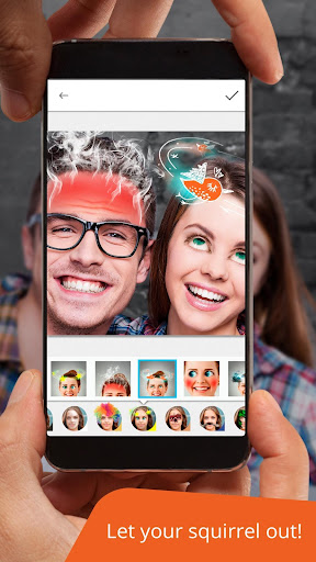 Avatars+: masks and effects & funny face changer 1.34 screenshots 1