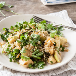 Miso Glazed Turnip & Kohlrabi Salad
