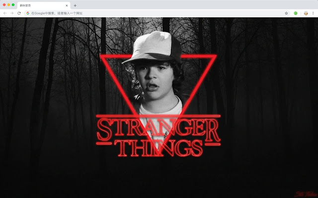 Stranger Things Show Show HD New Tabs Theme