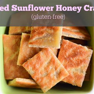 Toasted Sunflower Honey Crackers.