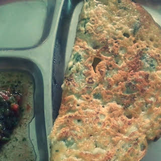 Chila / Rice flour crepes.