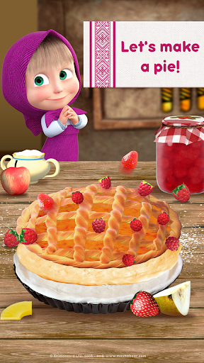 Masha and Bear: Cooking Dash  screenshots 3
