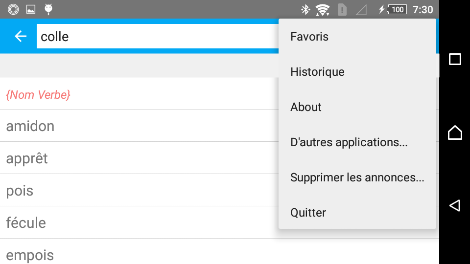 French Synonyms Offline Android Apps On Google Play