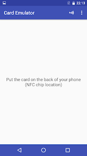 NFC Card Emulator- screenshot thumbnail