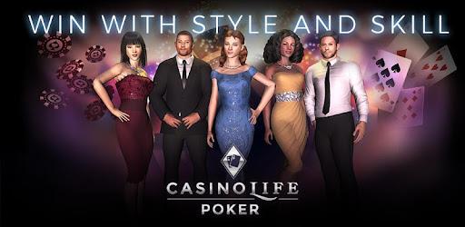 play poker at a casino